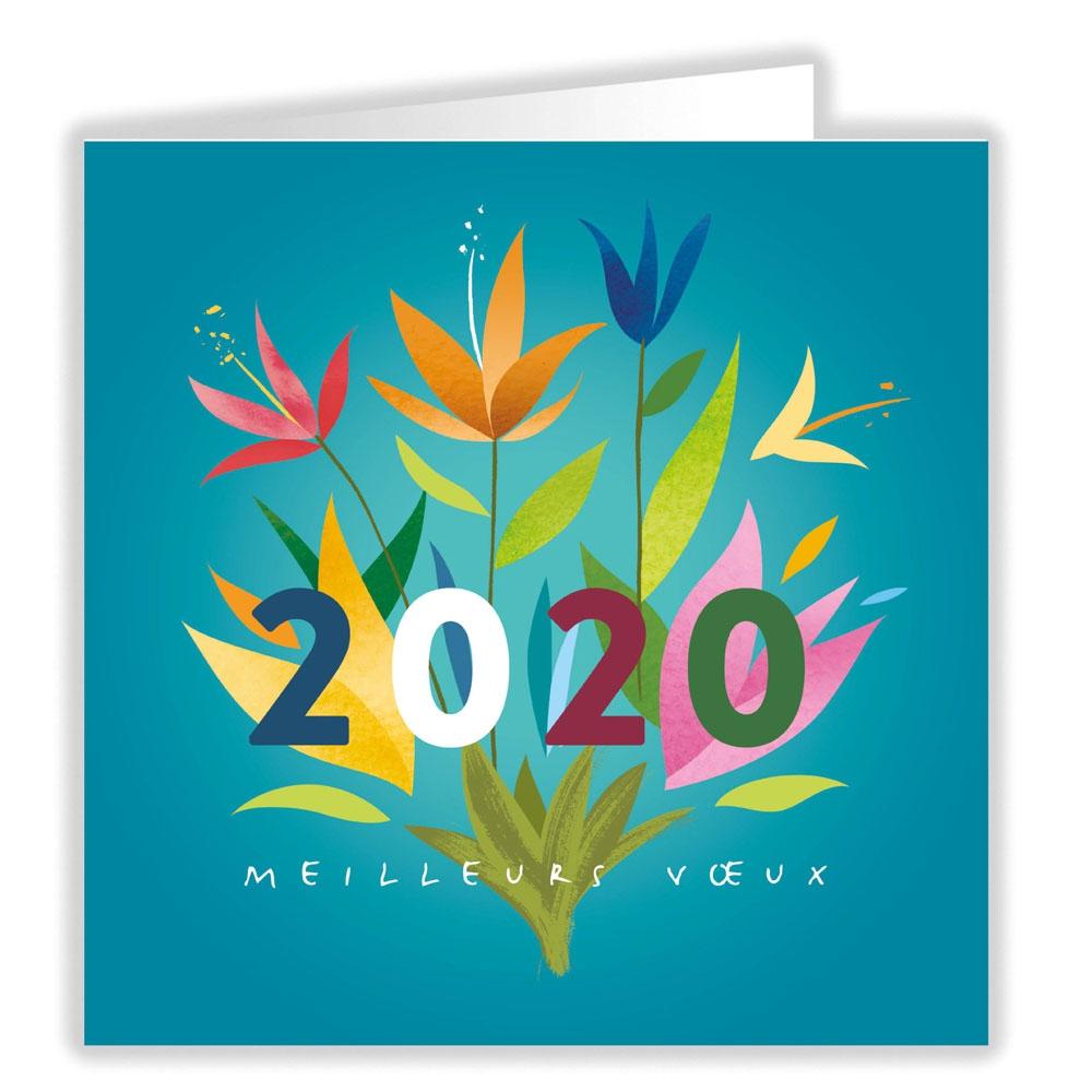 VOEUX FLEURIS 2020