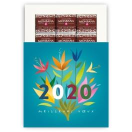 VOEUX FLEURIS 2020 - CHOCOLAT