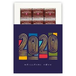 2020 EN FILIGRANE - CHOCOLAT