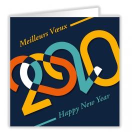 MEILLEURS VOEUX 2020  RETRO