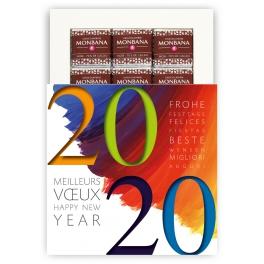VOEUX 2020 COULEUR - CHOCOLAT