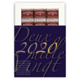 DEUX MILLE VINGT 2020 - CHOCOLAT