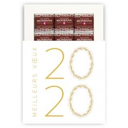 VOEUX A BULLES 2020 - CHOCOLAT