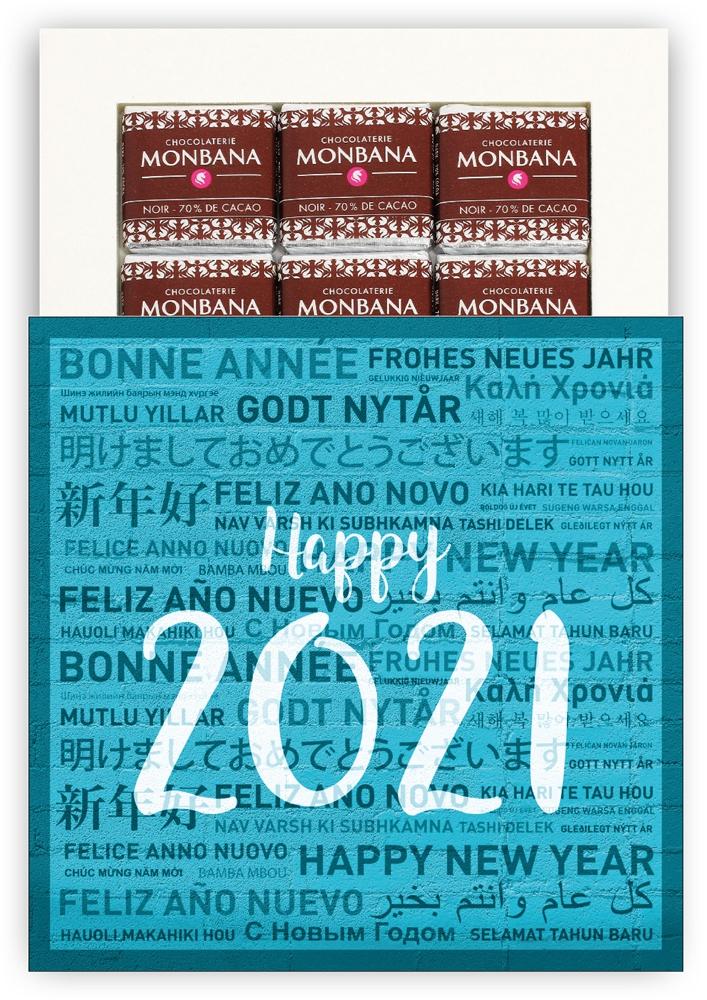 HAPPY 2021 - CHOCOLAT