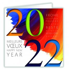 VOEUX EN COULEUR (2022)