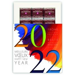 VOEUX EN COULEUR (2022) - CHOCOLAT