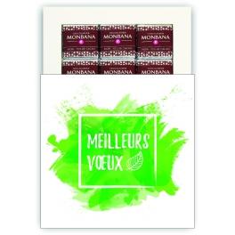 MEILLEURS VOEUX DURABLES - CHOCOLAT