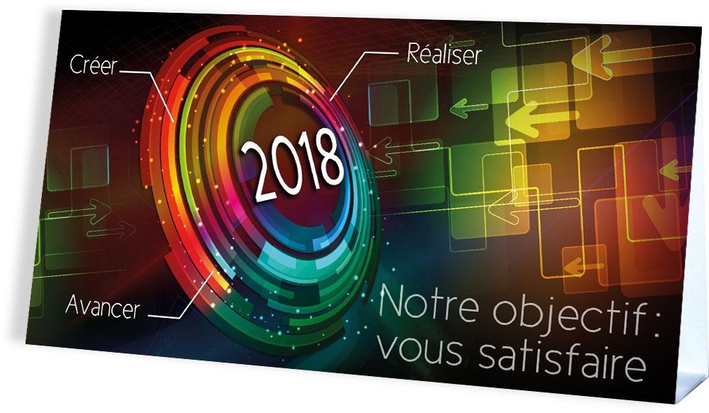 VOUS SATISFAIRE EN 2018 - CALENDRIER