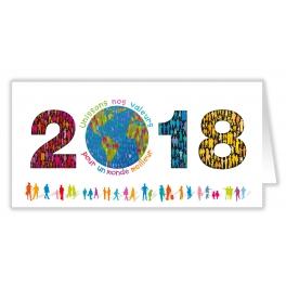 UNISSONS NOS VALEURS 2018