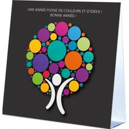 ANNEE PLEINE DE COULEURS  - CALENDRIER