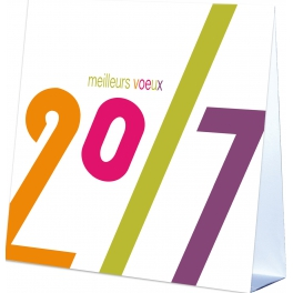 VOEUX 2017  - CALENDRIER