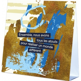 UN MONDE DIFFERENT  - CALENDRIER