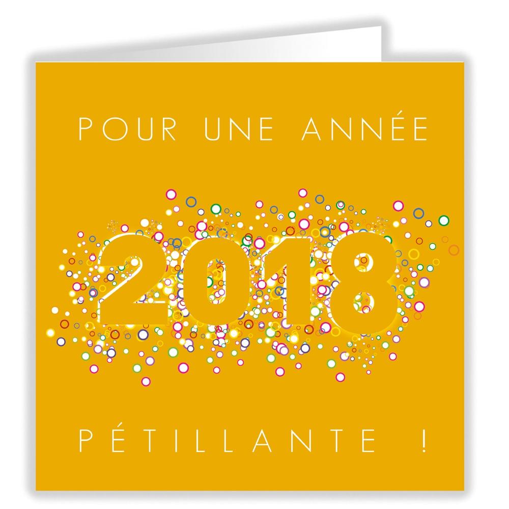 ANNEE PETILLANTE (2018)