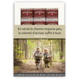 VOLONTE D'ARRIVER - CHOCOLAT