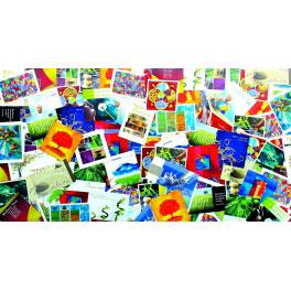 SÉLECTION PANACHÉE (lot de 100 cartes)
