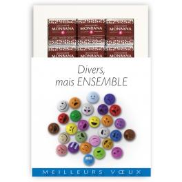DIVERS, MAIS ENSEMBLE  - CHOCOLAT
