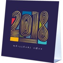 2018 EN FILIGRANE  - CALENDRIER