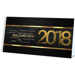 ANNEE DOREE INTERNATIONALE 2018  - CALENDRIER