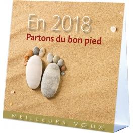 PARTONS DU BON PIED (2018)  - CALENDRIER