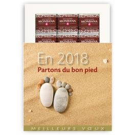 PARTONS DU BON PIED (2018)  - CHOCOLAT
