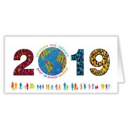 UNISSONS NOS VALEURS 2019