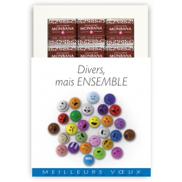 DIVERS, MAIS ENSEMBLE - CHOCOLAT