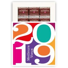 VOEUX 2019 EN COULEURS - CHOCOLAT