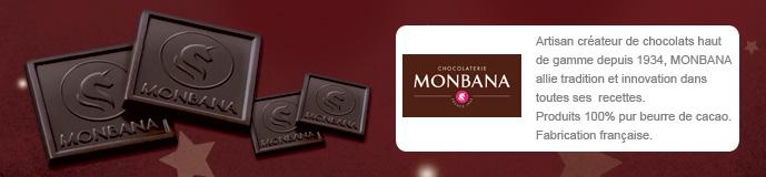 Carte chocolat Voeux Solidaires